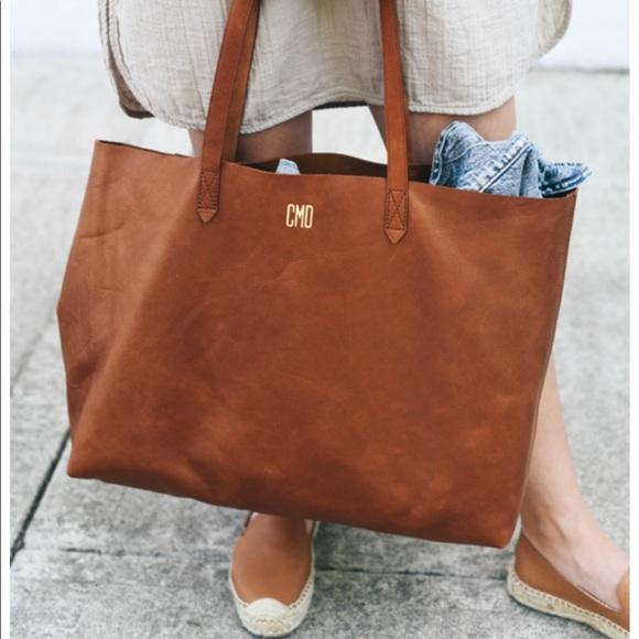 5ebe4e9e9b74 Madewell Handbags - Madewell East West Transport Tote